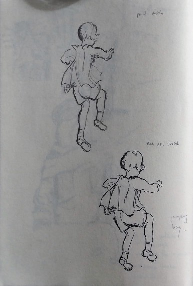 Researching E H Shepard's style (2)