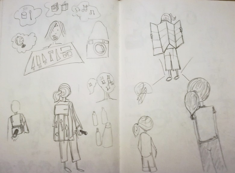 travelling sketches