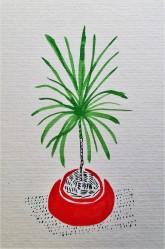 Urban Jungle, plants, illustration