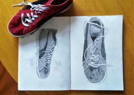 Subjective drawing: Shoe