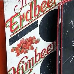 Fruit sign - Berries