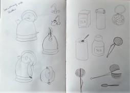 Brainstorming: Sketching initial ideas