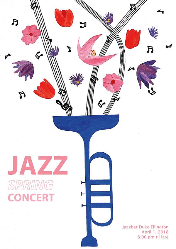 assignment 3, poster, Jazz