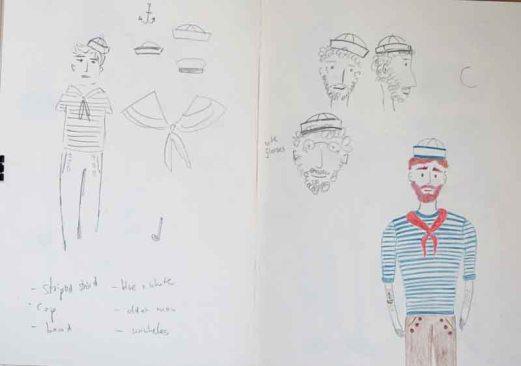 Character development: Lars, the sailor