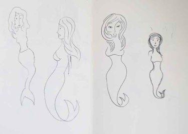 Character development: the Little Mermaid