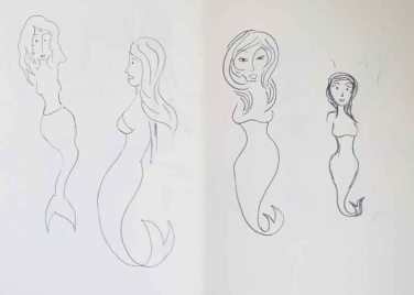 Character development: the Little Mermaid