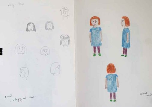 Character development: Lucy, school girl