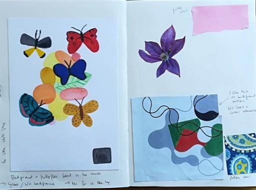 Museum Posters: Sketchbook - moodboard