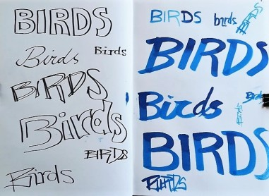 Museum Posters: Sketchbook - Ideas for typo