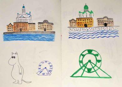 Exercise: Travel Guides - sketchbook